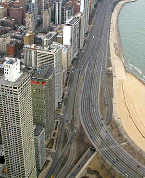 A downtown Chicago Phenix Salon is a short distance from the city's Lake Shore Drive and the Magnificent Mile.