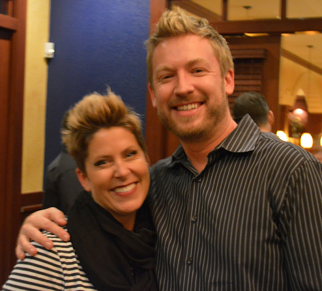 Phenix Founder Gina Rivera and Michael Carnahan.