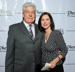 Managing Partners David and Pamela McCune prize salon professionals as their clients.