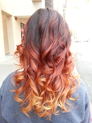 Ombre On Fire!