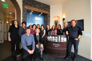 Click on the photo to see a virtual tour of the Roseville, MN, Phenix Salon Suites.